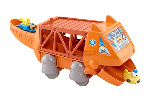 Image of Fisher Price Toy - Octonauts Playset - Gup G Mobile Speeders Launcher - Includes 2 Speeders