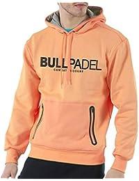 Bull padel Sudadera Ortex (L, Naranja flúor)