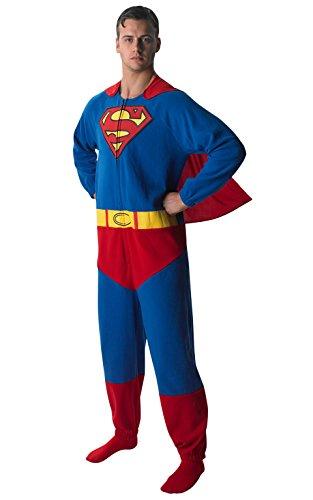 Rubie's 3880332 - Superman Onesie - Adult, Verkleiden und Kostüme, S