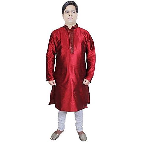 Mens Outfits kurta moda pantaloni del pigiama abbigliamento