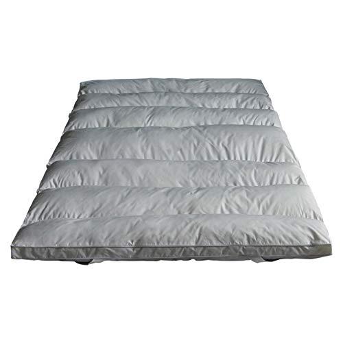 KELE Baumwolle Matt mat Bett matratzenauflage Japanischen Boden futon-matratze,Grau Umfassende antibakterielle matratze-6cm-A 150x200x6cm