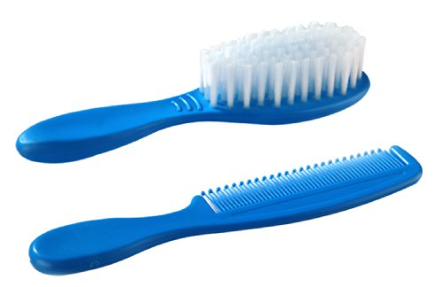 Little's Hair Brush and Comb (Blue)