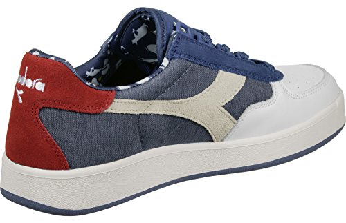 Diadora B. Elite Baretta Schuhe Blau Weiß