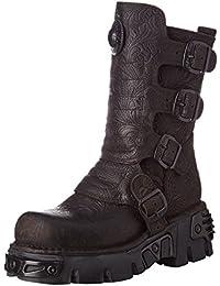 Amazon.es  New Rock Botas - Botas   Zapatos para mujer  Zapatos y ... 2ad448dc94fd