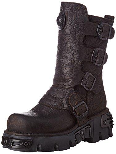 New Rock Unisex-Erwachsene M-373X-S25 Biker Boots, Schwarz (Black 001), 42 EU