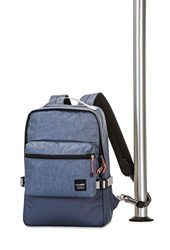 Pacsafe Slingsafe LX350Diebstahlschutz abnehmbarer Pocket, Tweed Grey (grau) - 688334025984 denim blue