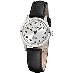 REGENT Watch - Ladies Titanium Watch with Leather Strap - F899