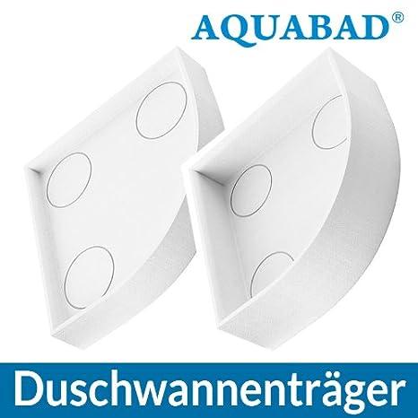 AQUABAD® Universal Duschwannenträger Styroporträger Wannenträger ... | {Duschwanne einbauen mit wannenträger 67}