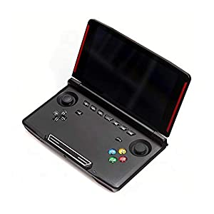 MapleDE Mode Handspielkonsole, X18 Android Pocket PSP-Spielekonsole DC/ONS/NGP/MD Arcade, Flip-Videokonsole