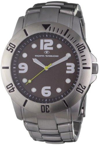 TOM TAILOR Damen-Armbanduhr Analog Edelstahl 5406905