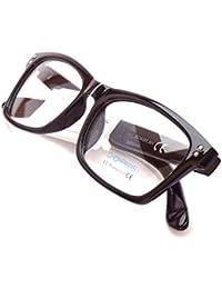 Nuevas: Gafas de Pasta Sin Graduar Unisex, varios Colores con Funda 43MM