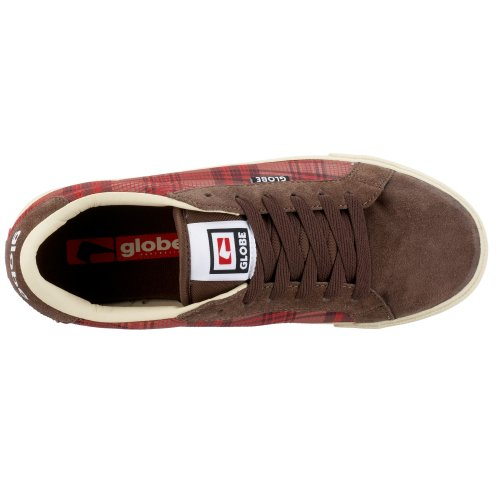 Globe - Casual uomo Earth/Red Plaid