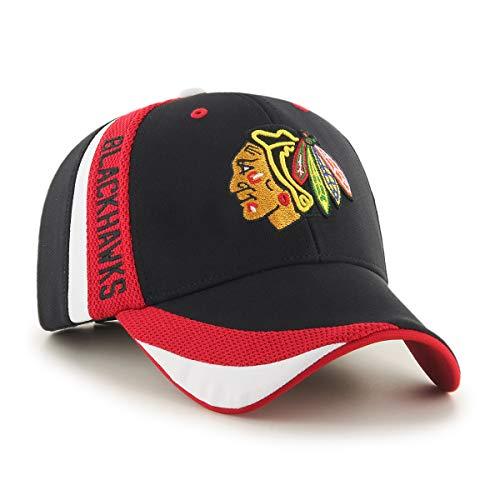 02b6c2a3182361 47 Brand Casquette Chicago Blackhawks - Collection Officielle - Taille  réglable
