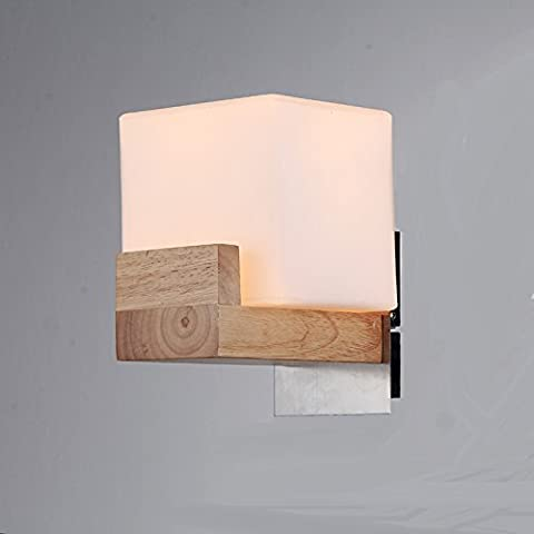 Nordischen Stil Wand Lampe Korridor Wand Restaurant Club Handbuch Hölzerne Lampen Led - Beleuchtung Im Europäischen Stil Wall Lamp Einhändig