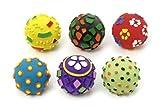 Karlie Latex Ball Toy Sortiert, 8 cm mit Squeeker, 1 Stück