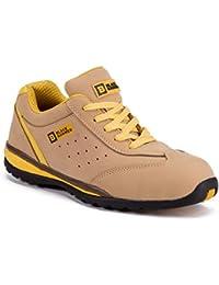 Black Hammer Baskets de sécurité pour Hommes a Bout renforcé S1P SRC Chaussures de Travail Chaussures de randonnée Semelle de Protection 4007