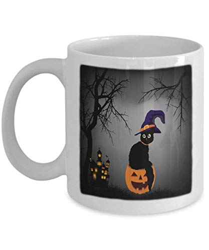Halloween Pumpkin - Funny Happy Halloween Day Coffee Mug Gift Coffee Cup Mugs - Halloween Great Gifts Idea for Men, Women, Kids, Mom, Dad, Son, Daught