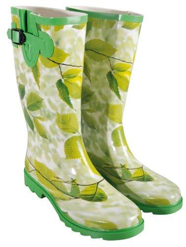Protezione Gardener - Rubber Boots formato 40 Motivi Foglie