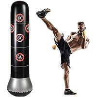RUNACC - Sac de frappe sur pied pour le fitness, la boxe, sac gonflable avec cibles de frappe, parfait pour les enfants et les adultes