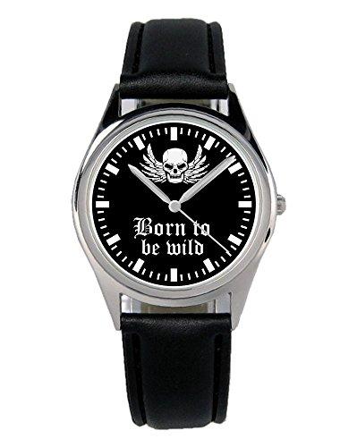 Geschenk für Motorrad Biker Cruiser Fans Fahrer Kiesenberg Uhr B-2319