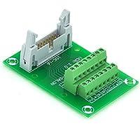 Electronics-Salon idc16 2 x 8 Pins 0,3 cm Stecker Header Breakout Board, TERMINAL BLOCK, Stecker.