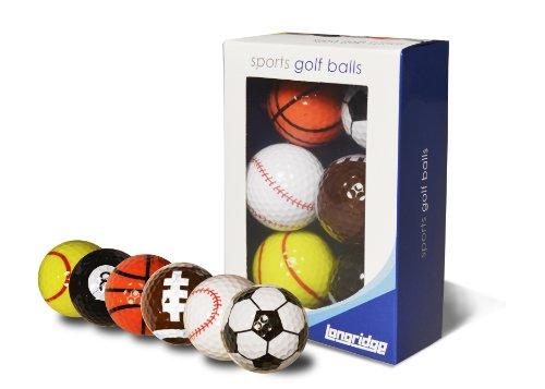 Longridge BLSP6 - Set de pelotas de deportes, 6 piezas