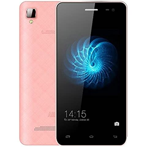 Leagoo Alfa 61600mAh MTK6582Quad Core Android 4.43GB Smartphone pantalla IPS 4,5'1GB RAM 8GB ROM 5MP Dual