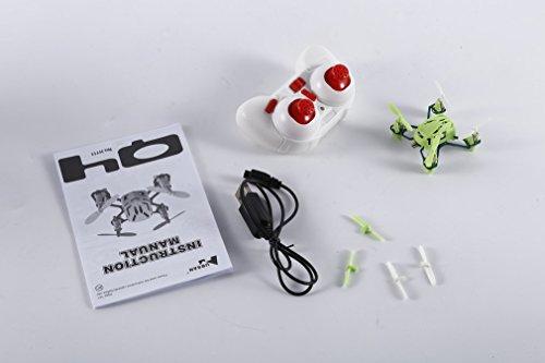 Leoboone Palm Größe Q4 H111 4-CH 2,4 GHz Fernbedienung Mini Professionelle Quadcopter Fliegen Hubschrauber Spielzeug Hubsan Nano
