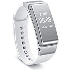 "Huawei Talkband B2 - Pulsera (pantalla 0.73"", Bluetooth), color plateado"