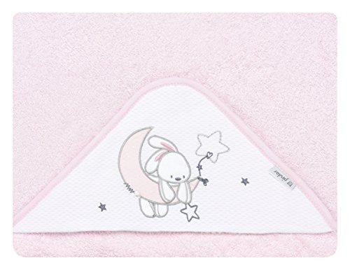 pirulos 00713114–maxicapa, Design Mond, 100x 100cm, weiß/pink