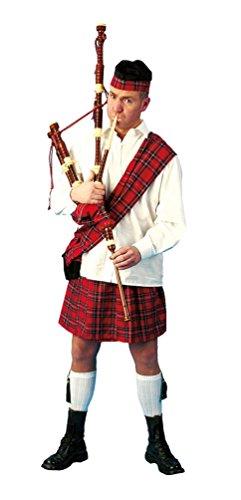 ,Karneval Klamotten' Kostüm Schotte Loch Ness Herr Kostüm Karneval Kilt Herrenkostüm Größe (Kinder Kostüm Braveheart)