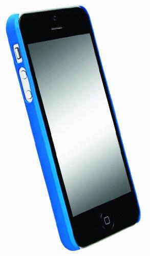 Krusell ColorCover Schutzhülle für Apple iPhone 5 schwarz blau