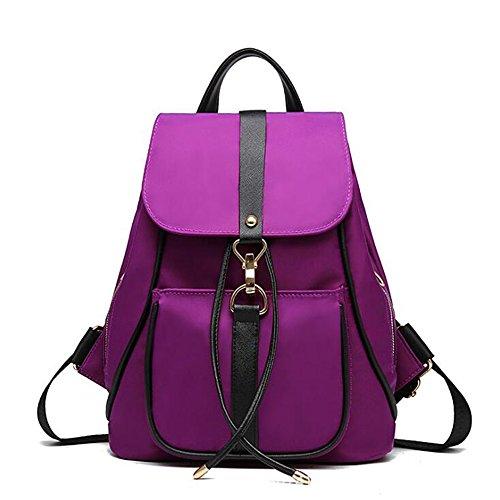 Kaichen Wasserdichte Mode Kleine Rucksack für Teen Girls Lila (Purple) (Kleiner Girls Rucksack Teen Für)