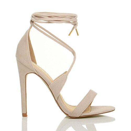 Ideal Shoes , Sandali donna, rosa (Rose), 37 EU