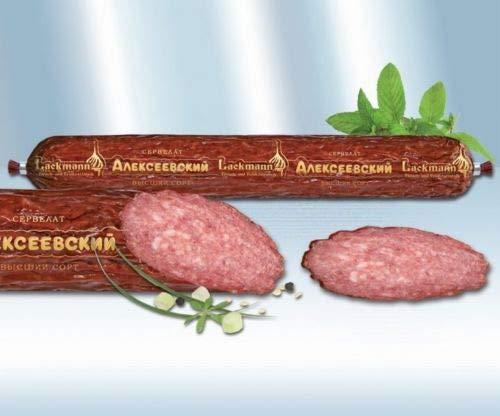 Cervelatwurst Alexejewskij heiß-gegart Lackmann 300g