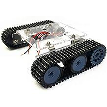 SMALLJUN Chasis del Robot del Tanque, Acrílico Chasis del Robot del Tanque Dc9-12V