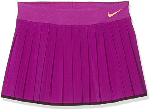 Nike Victory Skirt YTH Rock, Mädchen M Lila (lebendiges lila/schwarz/Tart) -
