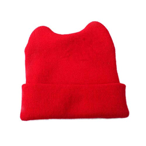 d45d97b3d38c Happy Cherry Bonnet Bébé Fille Garçon en Hiver Automne Chaud Cartoon Mignons  Ours Beanie Chapeau Crochet