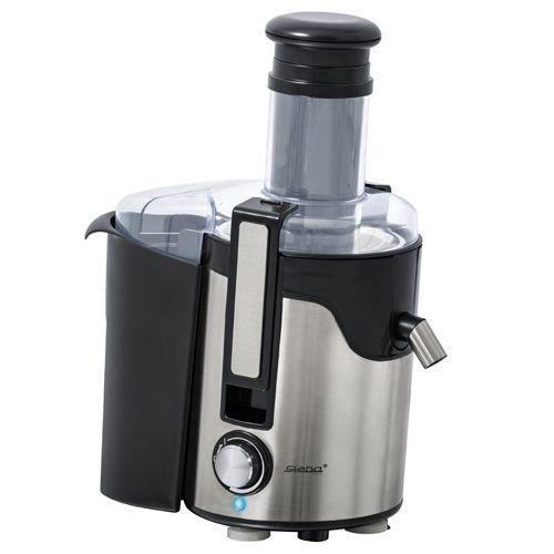 Steba E 91 - Exprimidor eléctrico, 600 W, color negro y plateado