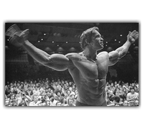 Arnold Schwarzenegger Bodybuilding Motivations Kunstdruck/Poster Fitness Inspirational Bild Für Room Wall Decor 40 * 64 cm Ohne Rahmen