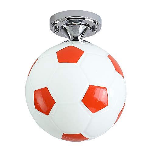 TUEU - Pantalla para lámpara de techo con forma de balón de fútbol ...