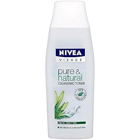 Nivea Visage Pura & Naturale Toner Pulizia (200ml) (Confezione da 2)