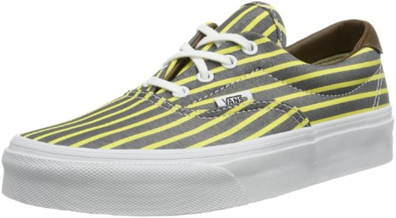 Vans U ERA 59 STRIPES YELLO VUC6C4J Unisex Erwachsene Sneaker