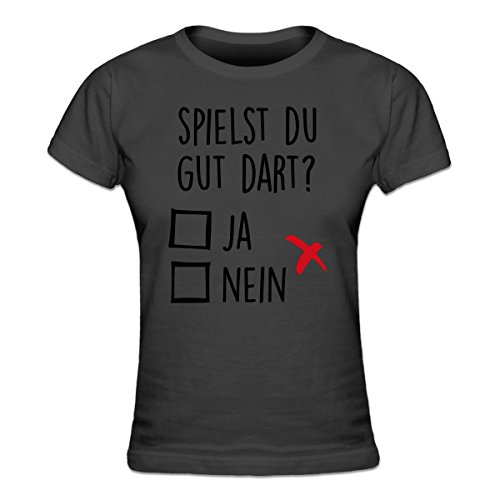 Shirtcity Spielst Du Dart? Ja, Nein Frauen T-Shirt by (Anzahl Spieler T-shirt)