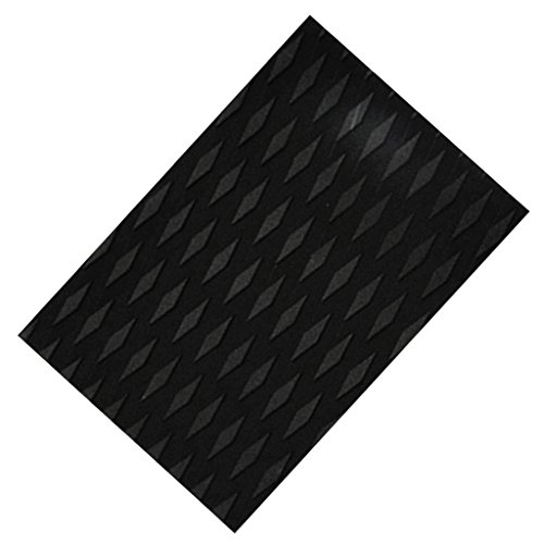 FITYLE Surfboard Traction Pad (30x21x0,5cm) - Schwarz