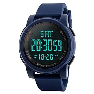 SKMEI Sports Digital Blue Dial Men's Watch – SkmeiMW71A
