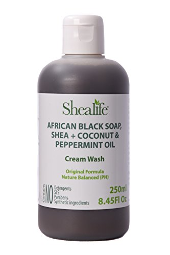 african-black-soap-liquid-250ml-foot-body-cream-wash-shea-oil-with-coconut-peppermint-oil-made-using