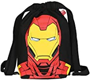 EcoRight Marvel Canvas Drawstring Backpack for Men with Extra Pocket, Sackpack for Women, Gym Bag for Kids &am