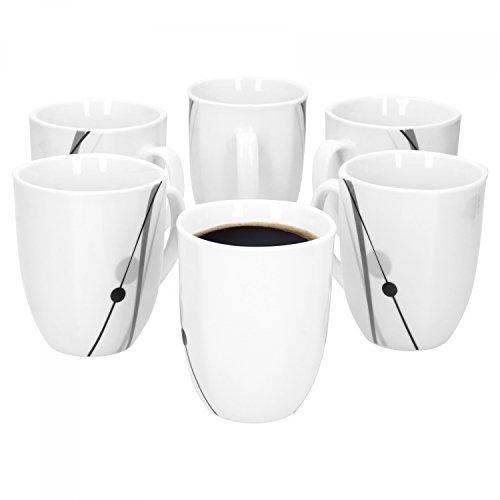 Kaffeebecher Kyoto Orchidee 33cl Kaffeetasse Tasse Becher Geschirr Porzellan