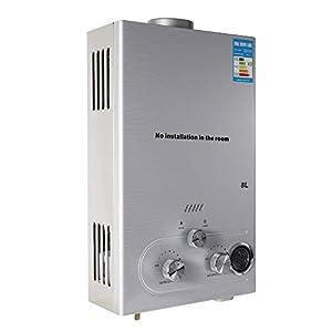 Natural Gas Calentador de agua caliente calentador de agua (8L)